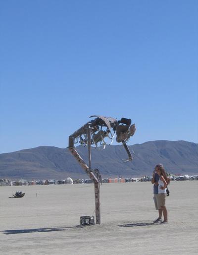 Creepysculpture